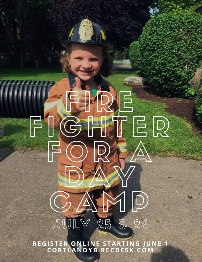 8 x 11 fire fighterfor a day camp 2